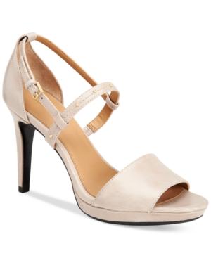 Calvin Klein Women's Pianna Siriana Platform Sandals Women's Shoes