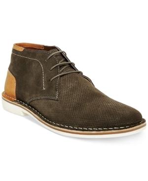 Steve Madden Men's Hendric Suede Chukka Boots Men's Shoes