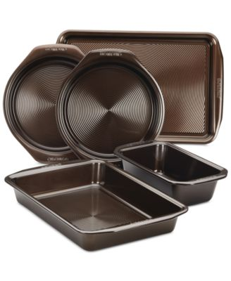 Circulon Symmetry Nonstick Chocolate 5-Pc. Bakeware Set