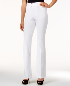 Inc International Concepts Flared Curvy-Fit High-Waist Pants Only at Macys $69.50 AT vintagedancer.com