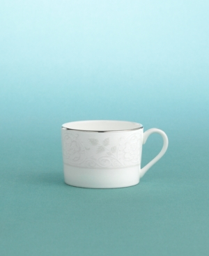 "Martha Stewart Collection with Wedgwood ""Petal Lattice"" Teacup"