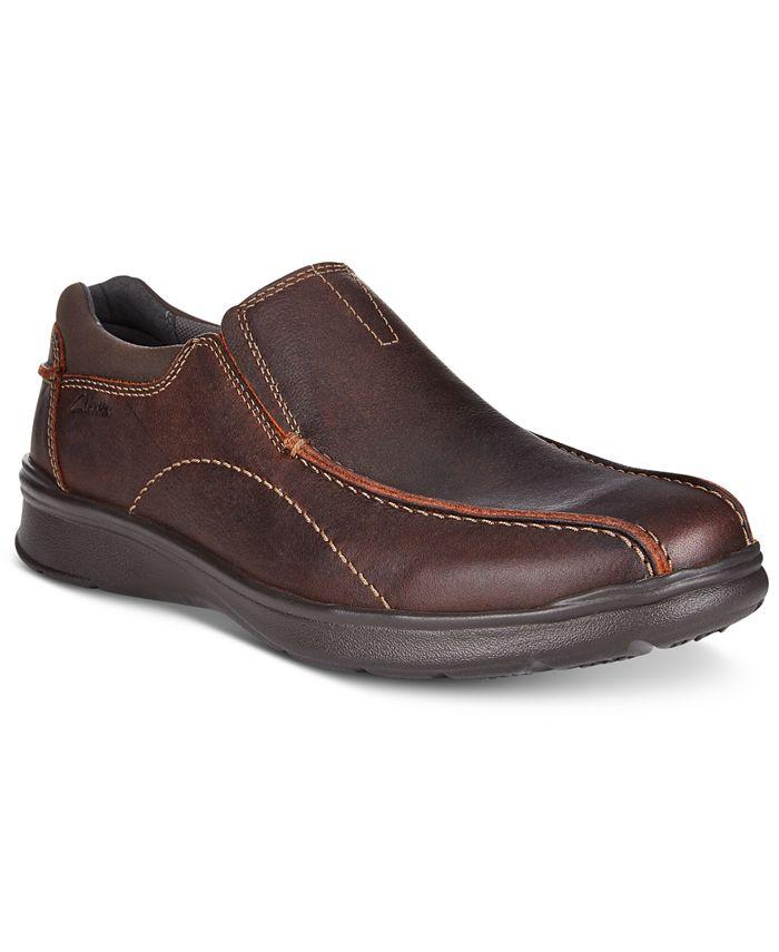 Clarks - Men's Cotrell Step Bike Toe Casual Slip-Ons