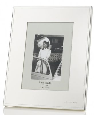 "kate spade new york Darling Point Silver 5"" x 7"" Frame"