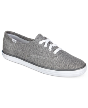 Keds Women's Sweatshirt Jersey Lace-Up Sneakers Women's Shoes