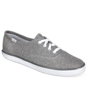 Keds Women's Sweatshirt Jersey Lace-Up Sneakers Women's Shoes
