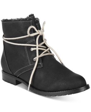 Sporto Jillian Lace-Up Booties Women's Shoes