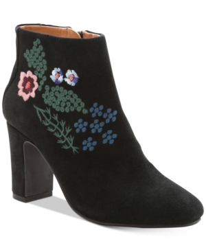 Nanette by Nanette Lepore Beverly Embroidered Booties Women's Shoes