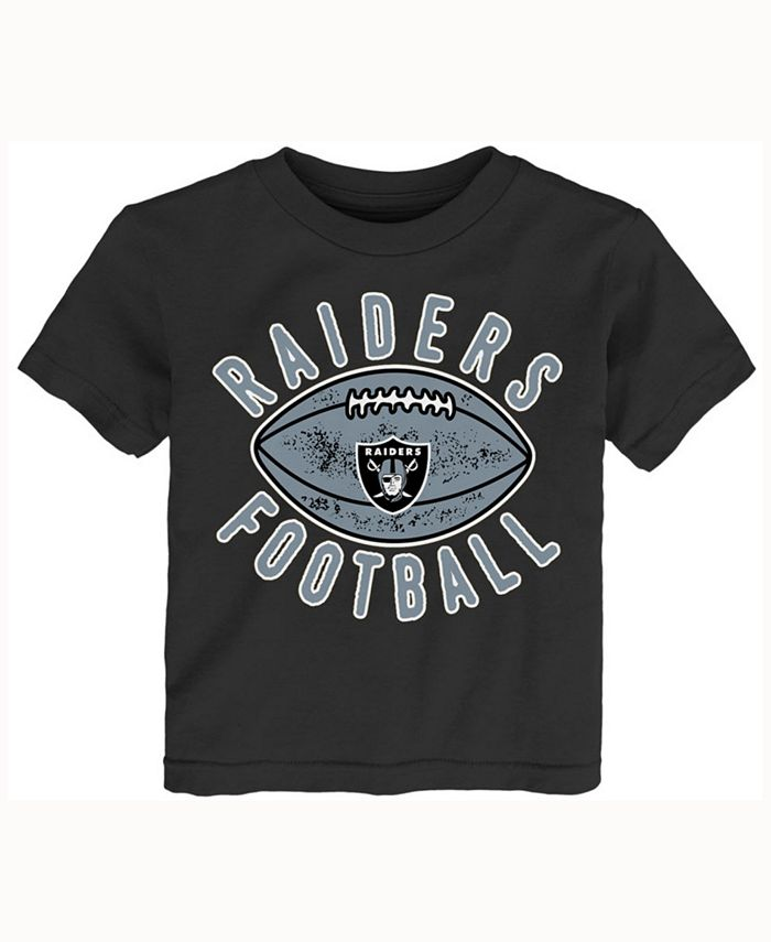 Outerstuff - Toddlers' Oakland Raiders Place Kicker T-Shirt
