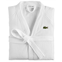 Lacoste Home Pique Bath Robe Deals
