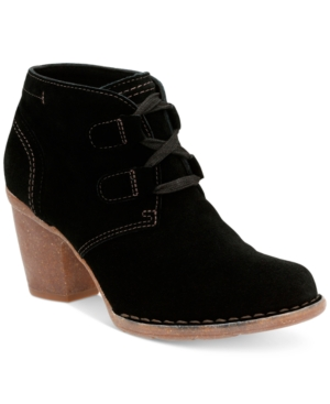 Clarks Artisan Women's Carleta Lyon Lace-Up Booties Women's Shoes