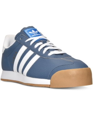 adidas Men's Samoa Gum Casual Sneakers from Finish Line