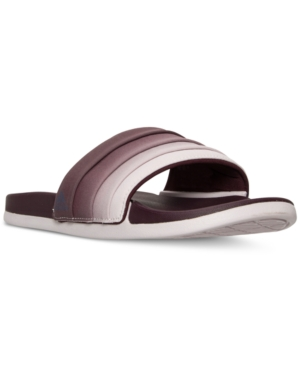 adidas Women's Adilette Cloud Foam + Armad Slide Sandals from Finish Line