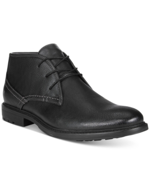 Unlisted by Kenneth Cole Men's On the Subject Plain-Toe Chukka Boots Men's Shoes