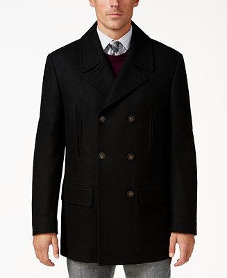 Ralph Lauren Luke Wool-Blend Classic-Fit Peacoat (Was $350, Select Colors Now $139.99)