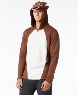 American Rag Men's Reindeer Hoodie, Only at Macy's