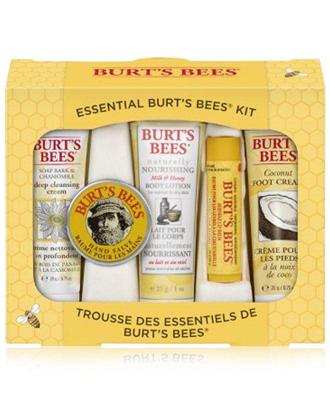 Burt's Bees 5-Pc. Essential Kit