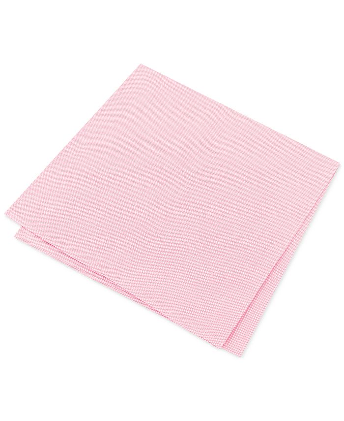 Tommy Hilfiger - Men's Oxford Solid Pocket Square
