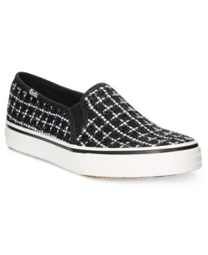 Keds Women's Double Decker Boucle Slip-On Sneakers Women's Shoes