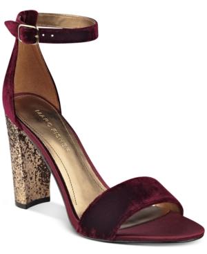 Marc Fisher Factor Block-Heel Dress Sandals Women's Shoes
