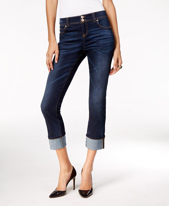 INC International Concepts INC Curvy-Fit Cropped Jeans, Created for Macy's