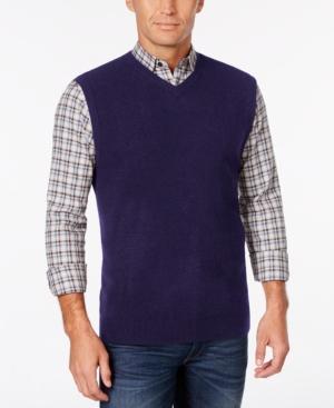 Men's Vintage Inspired Vests Weatherproof Vintage Mens Big and Tall Sweater Vest $29.99 AT vintagedancer.com
