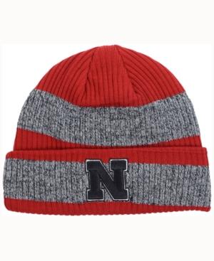 adidas Nebraska Cornhuskers Player Watch Knit Hat