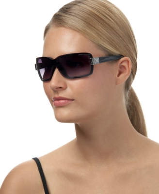 A/X Armani Exchange Rimless Shield Sunglasses - Sunglasses