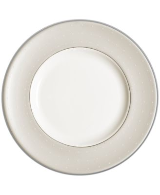 Monique Lhuillier Waterford Dinnerware, Etoile Platinum Salad Plate