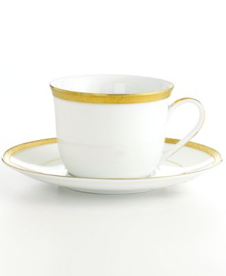 "Charter Club ""Grand Buffet Gold"" Cup and Saucer"
