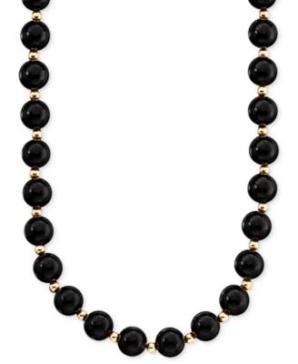 Gemstone Beaded Necklace - Macy's