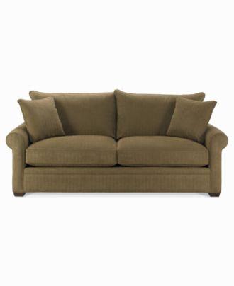 Dial Fabric Microfiber Queen Sleeper Sofa Bed Furniture Macy s