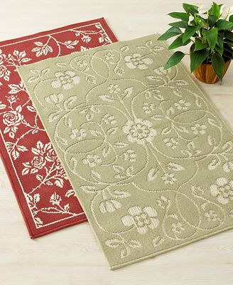 Bacova Rose Accent Rugs 30x50 Bed In A Bag Bed Bath Macy 39 S