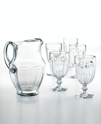 CLOSEOUT! The Cellar 7-Piece All-Purpose Glassware Set