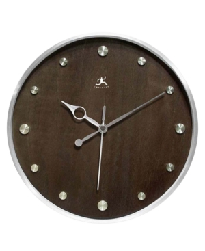 """Infinity Instruments """"The Copenhagen"""" Metal Wall Clock"""