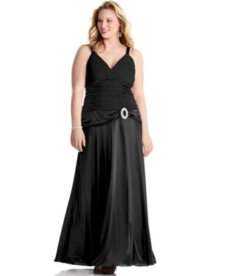 black prom dresses - plus size prom dresses 7