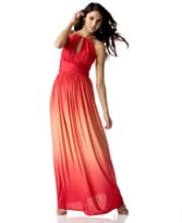 Maggy London Ombre-Printed Long Gown