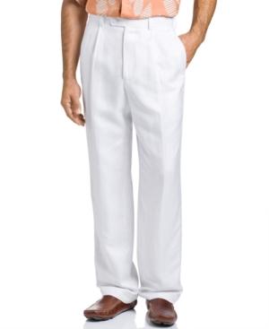 Cubavera Single Pleat Pants