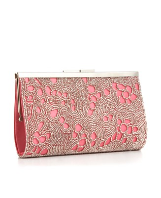 La Regale Beaded Patent Kiss Lock Frame - UNDER $100 - Handbags & Accessories - Macy's
