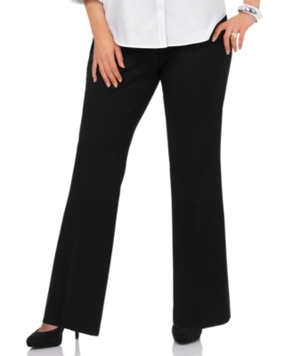 Jones New York Signature Plus Size Pants, Classic Twill