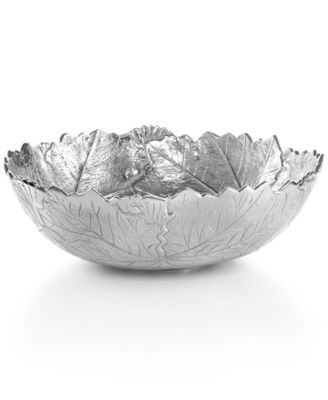 "Martha Stewart Collection Serveware, 12"" Park Leaves Salad Bowl"