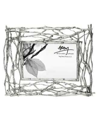 """Michael Aram Twig 4"""" x 6"""" Picture Frame"""