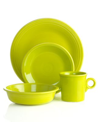 Fiesta Dinnerware, 4 Piece Place Setting