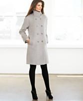 Jones New York Coat, Wool Double Breasted Walker