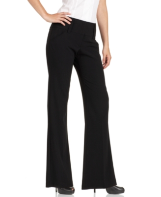 BCX Wide-Leg Trouser Pants