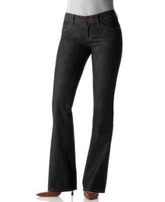 Tommy Hilfiger Freedom Boot Cut Jeans, Black Rinse