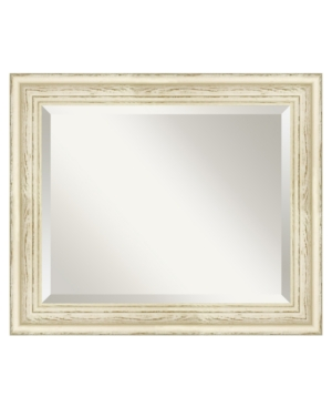 Amanti Art Country Whitewash Wall Mirror, Medium
