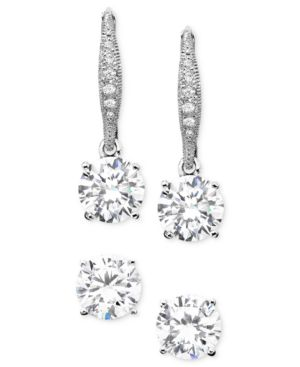 Eliot Danori Earrings Set, Cubic Zirconia (1-1/4 ct. t.w.)