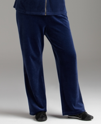 Style&co. Plus Size Pants, Velour