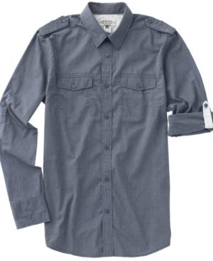 American Rag Shirt, Navy Chambray