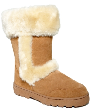 Style&co. Witty Faux-Fur Cold Weather Boots Womens Shoes